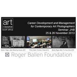 Reminder: Seminar for Contemporary Art Photographers: November 25-26