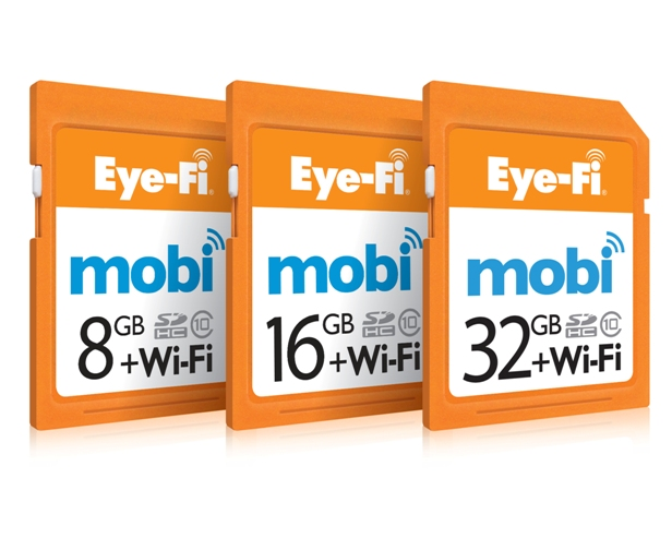 The complete Eye-Fi family