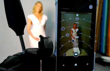 Nokia Lumia 1020 used in a studio shoot test by Ari Partinen and Marko Saari.